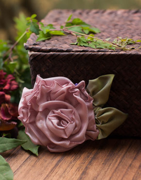Small Dusty Pink Rose